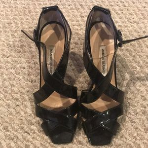 Vintage Patent Leather Manolo Blahnik Heels